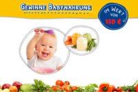 Jetzt Babynahrung gewinnen!