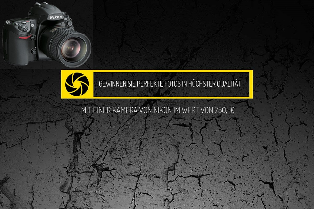 Sicher' Dir jetzt eine Nikon Kamera für 750€