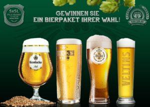Mitmachen & 25 Liter Bier gewinnen.