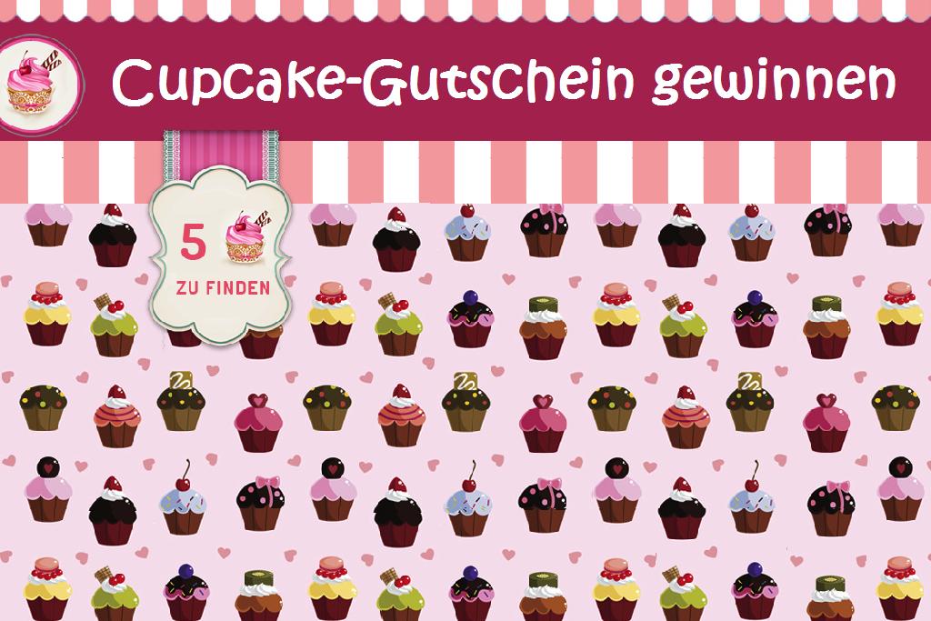 Cupcakes gratis genießen? Mach' mit und gewinne den Gutschein!