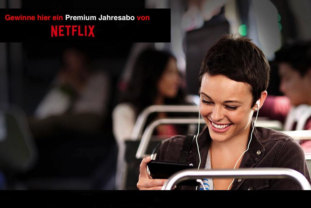 Sicher' Dir das Jahresabo für Netflix und werde zum Serienjunkie.