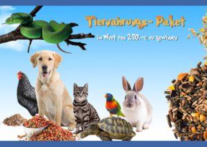 Gewinn' jetzt Tiernahrung im Wert von 250€!