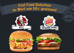 Jetzt Burger Gutschein gewinnen!