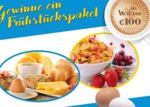 Gewinne jetzt ein gratis Frühstückspaket !