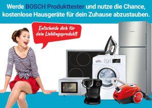 Produktester für Bosch werden? Das bietet Dir unser Gewinnspiel!