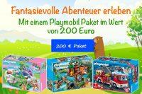 Playmobil-Paket für 200€ zu gewinnen!