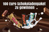 Teilnehmen und Schokolade im Wert von 100€ gewinnen!
