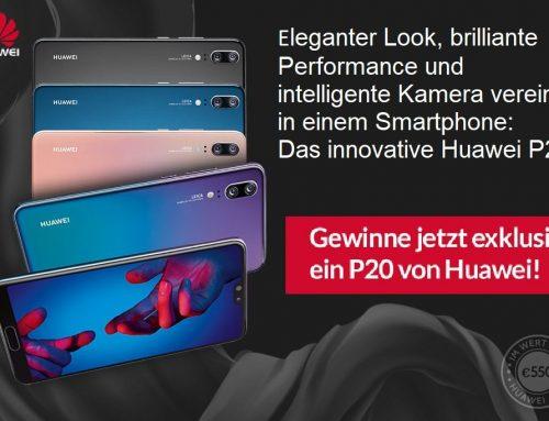 Huawei P20 gewinnen